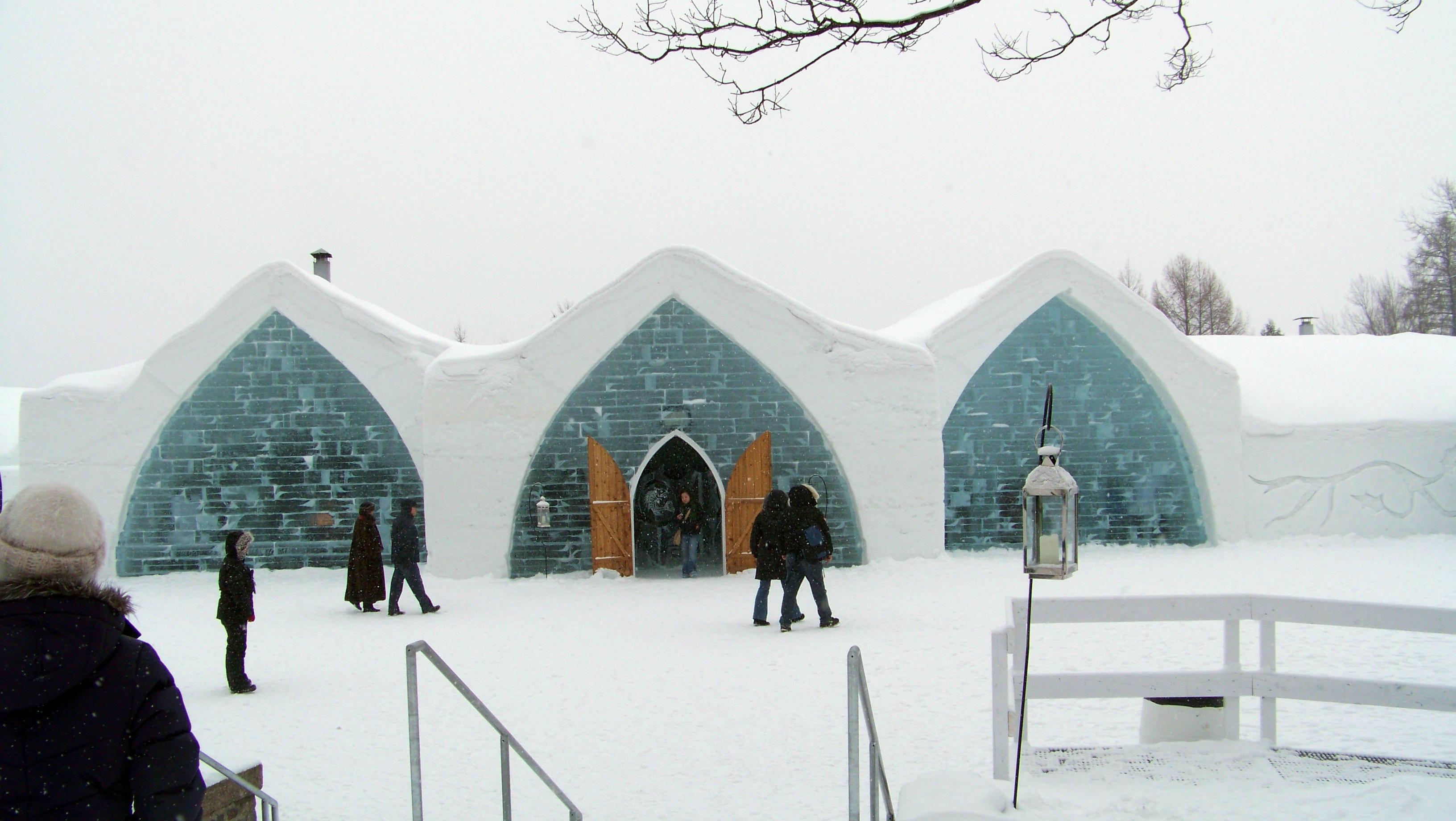 Capilla Hotel de Hielo Quebec