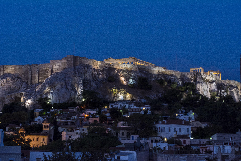 Acropolis amanecer Atenas