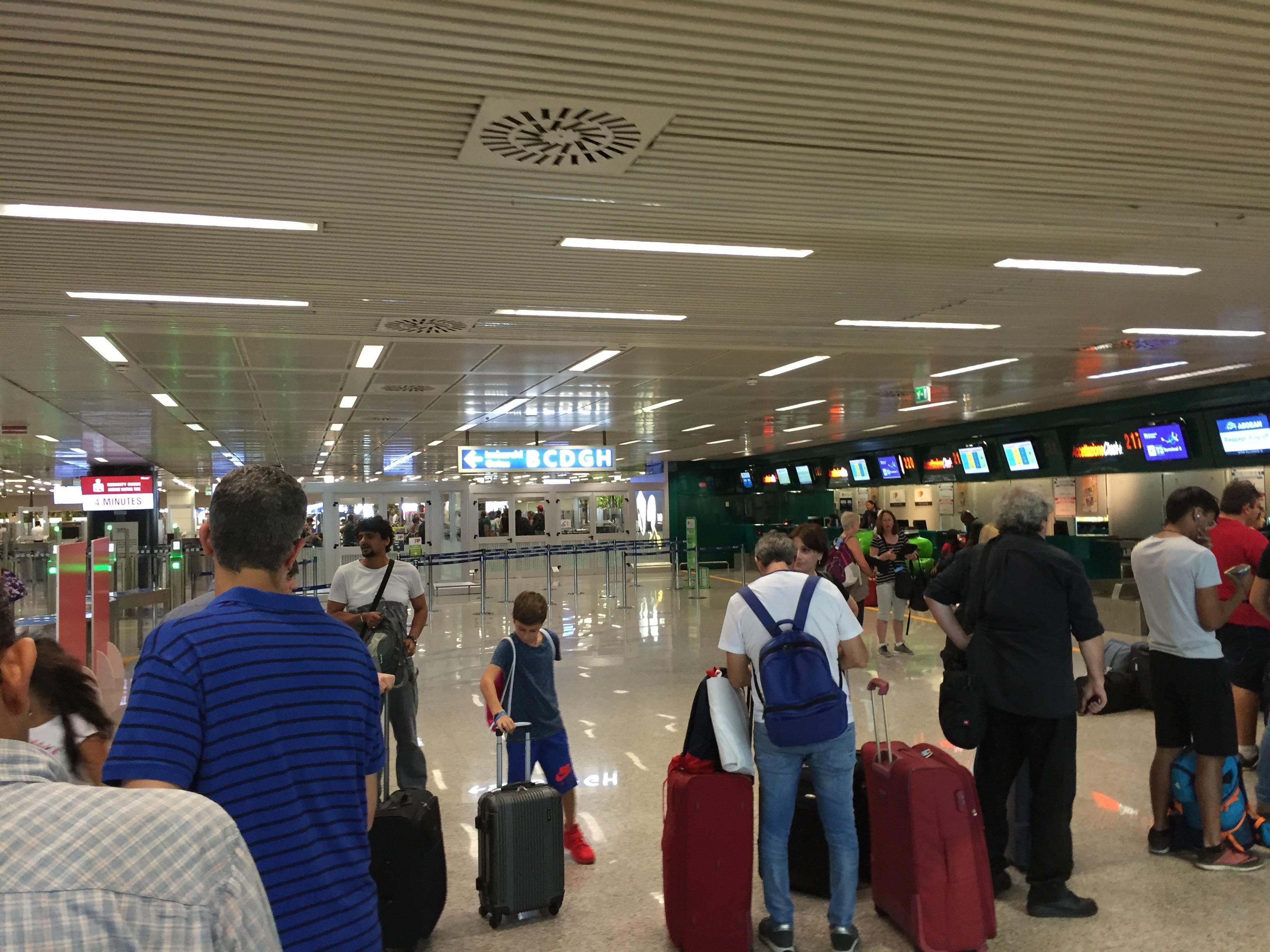 Fiumicino Aeropuerto Roma