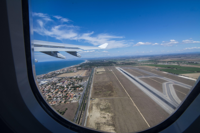 Despegando Aeropuerto Roma