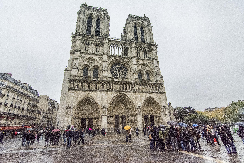 Fachada Notre Dame Paris