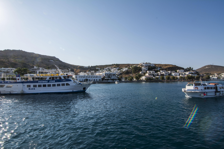 Patmos puerto Grecia