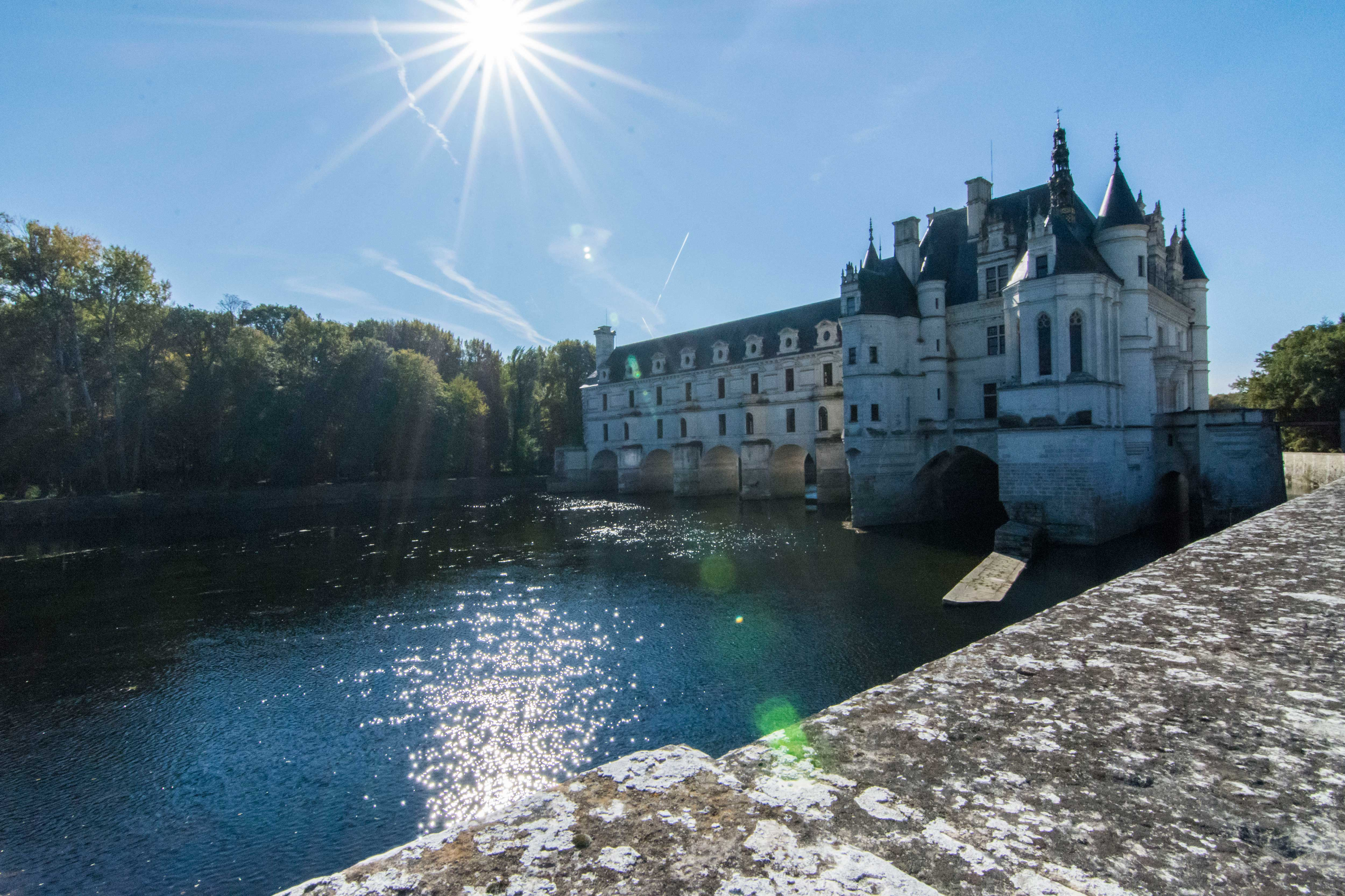 Castillo Chenonceau Castillos de Loire