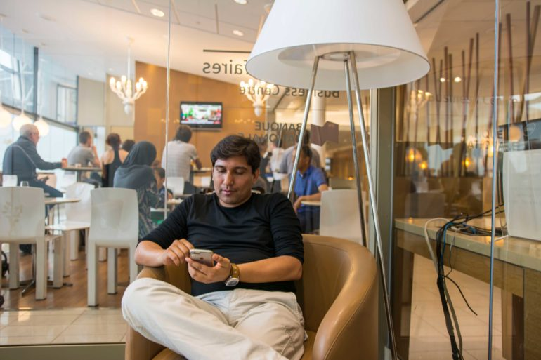 Ricardo Ruiz antes de partir