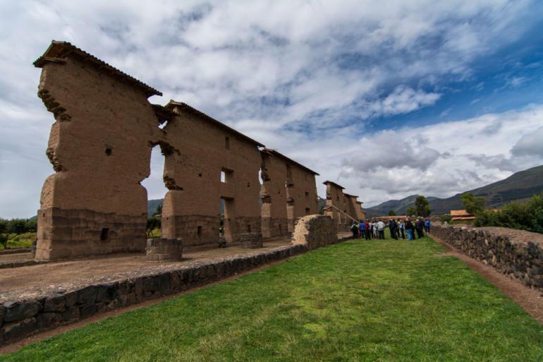 Raqchi templo Viracocha Peru